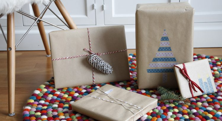 Verpackungsideen Weihnachtsgeschenke