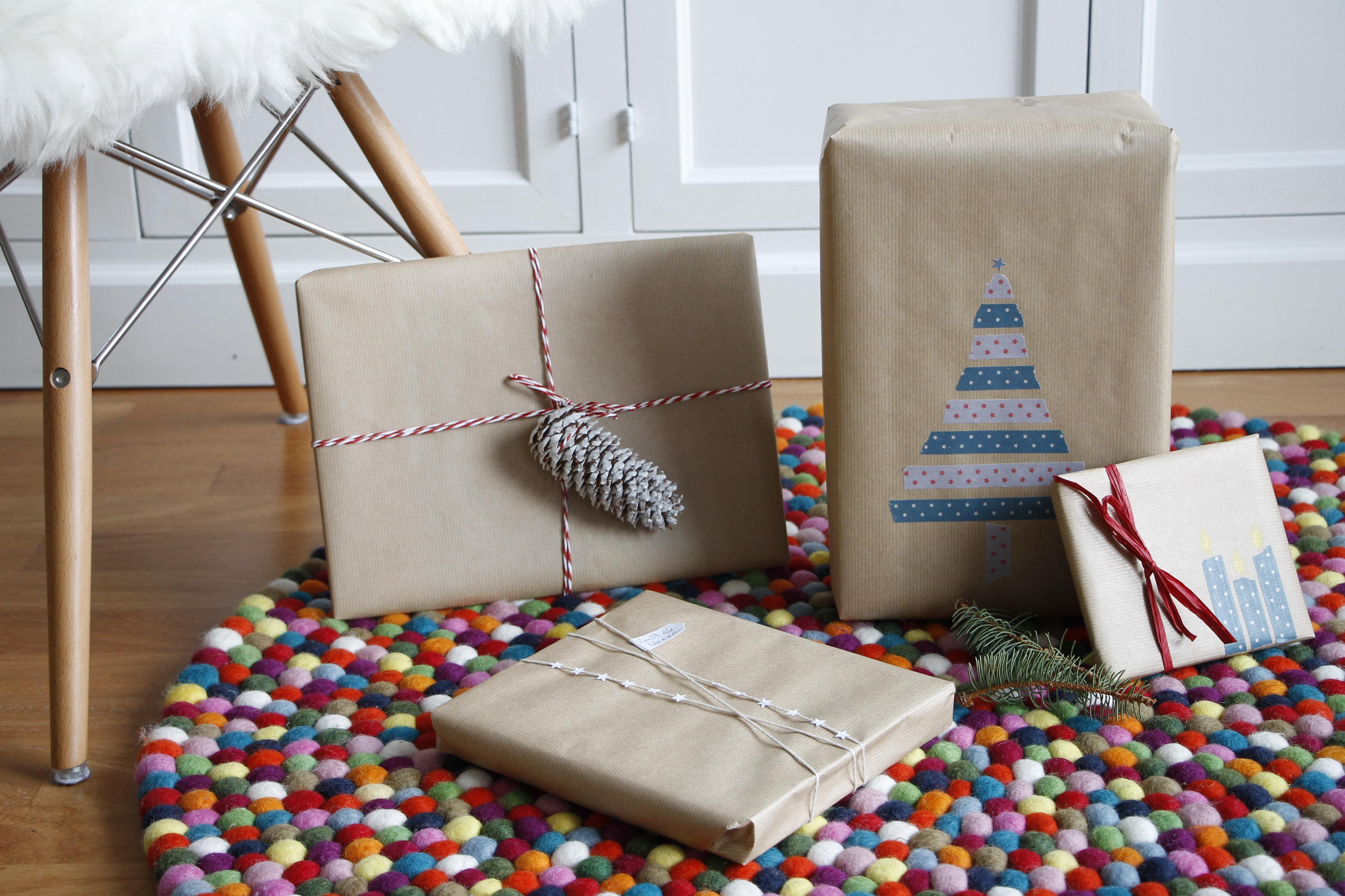weihnachtsgeschenke kreativ verpacken lavendelblog. Black Bedroom Furniture Sets. Home Design Ideas