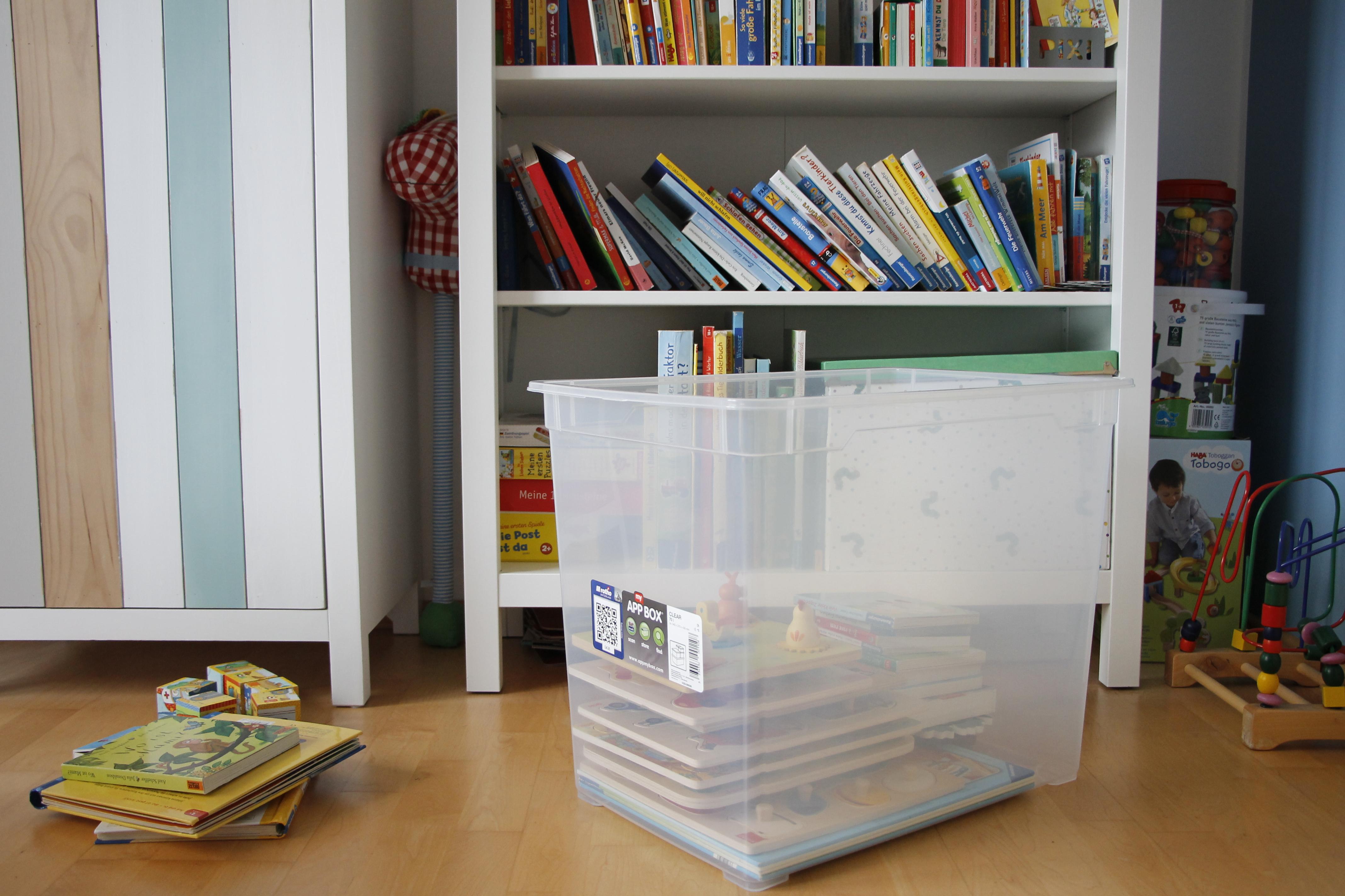 Das Kinderzimmer ausmisten mit Rotho - Lavendelblog