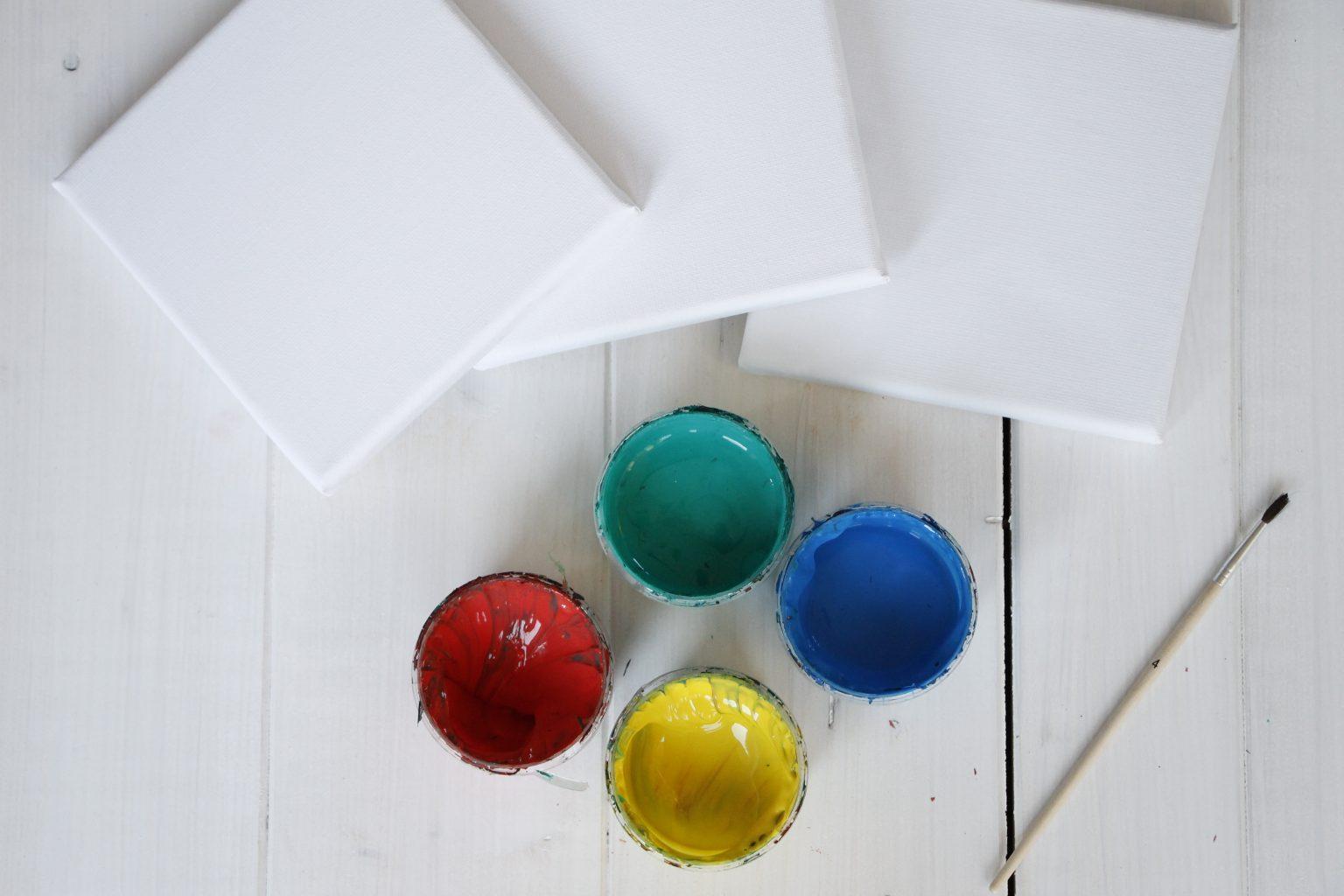 DIY-Idee Fingerfarbe