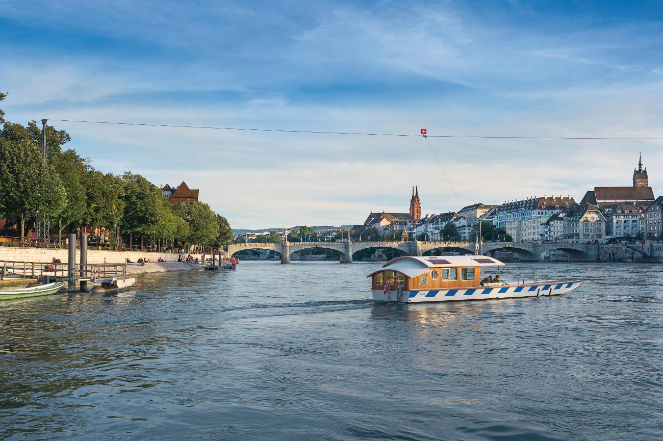 Basler Fähre (c) Basel Tourismus