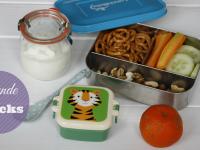 Gesunde Lunchbox-Ideen für Kinder