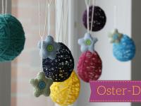 Oster-DIY-Idee: Ostereier aus Wolle