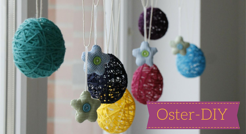 Oster diy idee ostereier aus wolle lavendelblog - Pinterest ideen ...