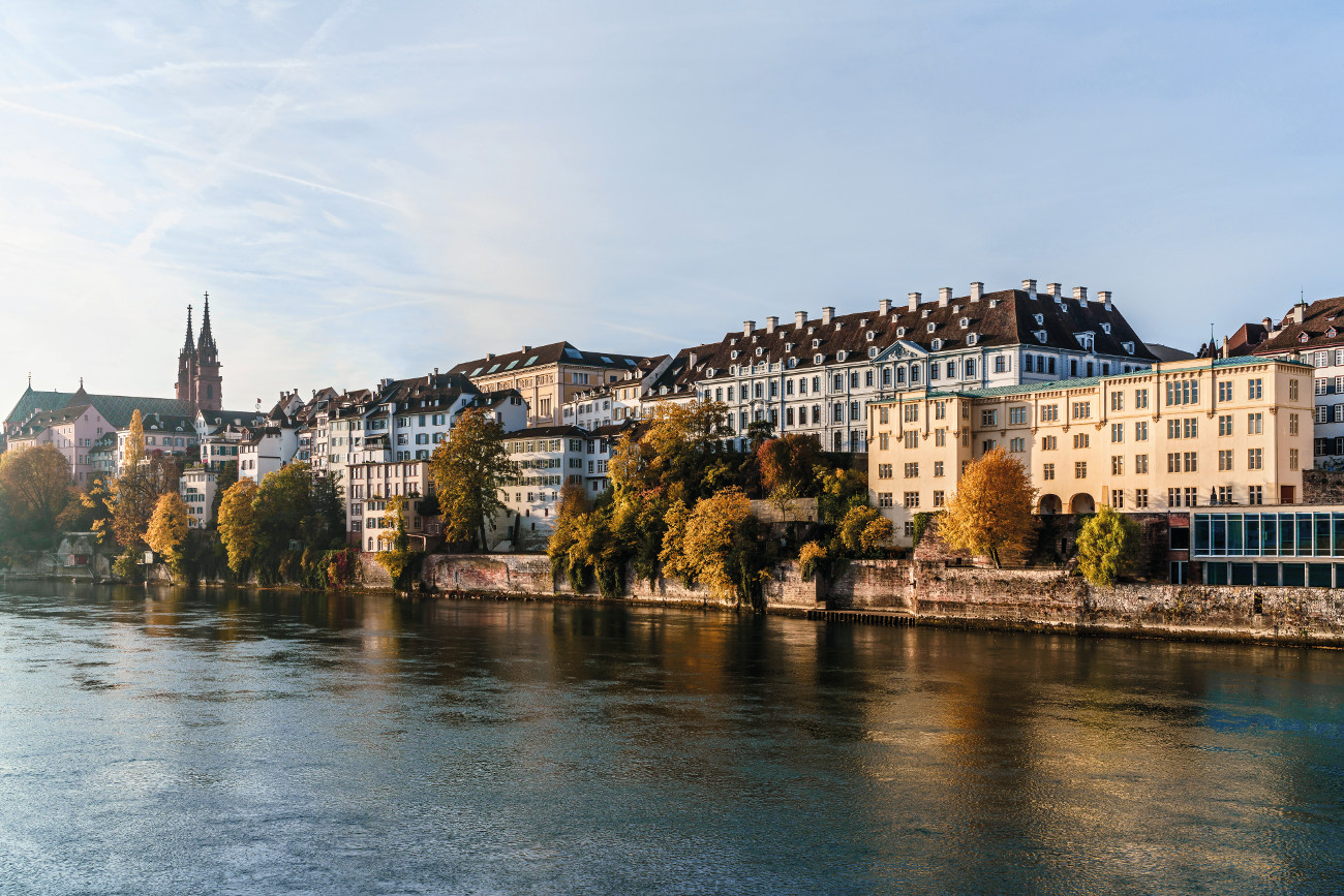 Panorama Basel mit Münster (c) Basel Tourismus