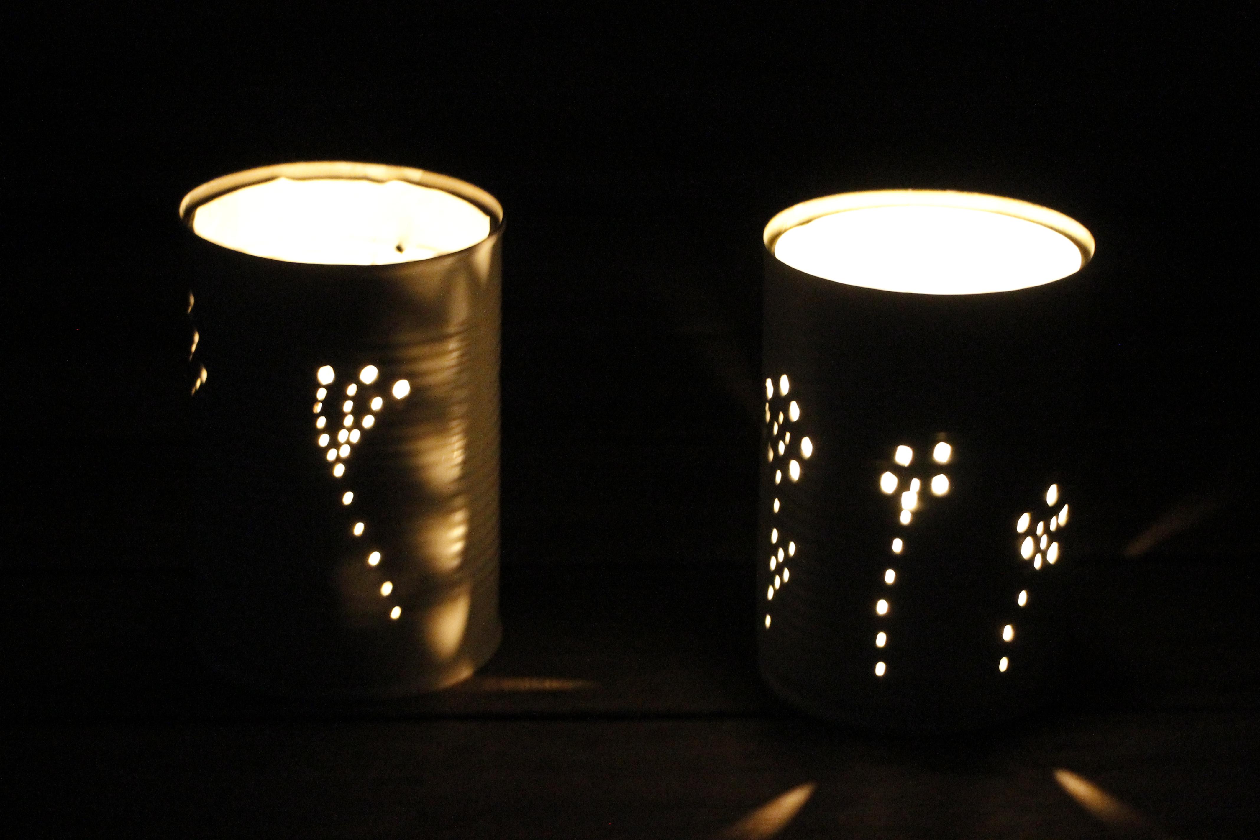 DIY-Idee: Ein Dosen-Windlicht für den Garten und andere Ideen für ...