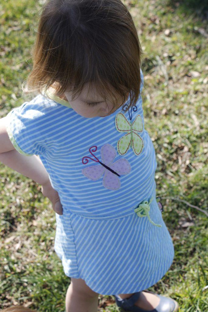 sigikid Kleid mit Schmetterlingen
