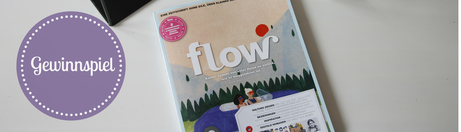 flow magazin abo lavendelblog. Black Bedroom Furniture Sets. Home Design Ideas