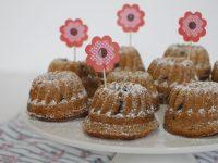 Mini-Gugelhupf Rezept mit Schokolade