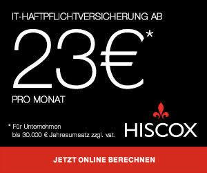 Hiscox IT-Haftpflicht