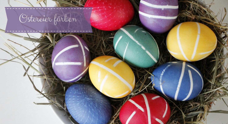 Ideen zum ostereier f rben dekorieren und gestalten - Eier dekorieren ...