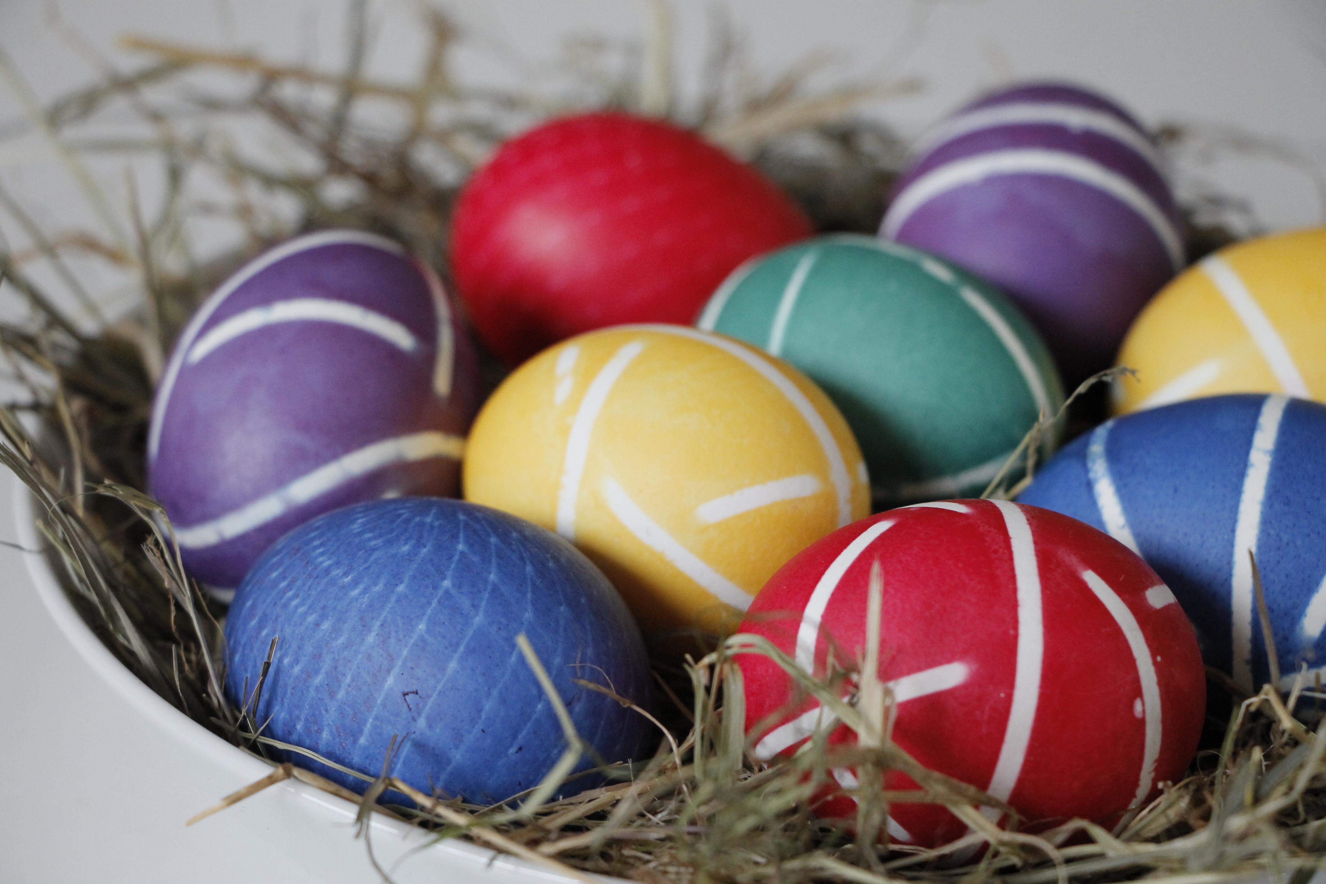 Eier färben mit Roter Bete Die Anleitung