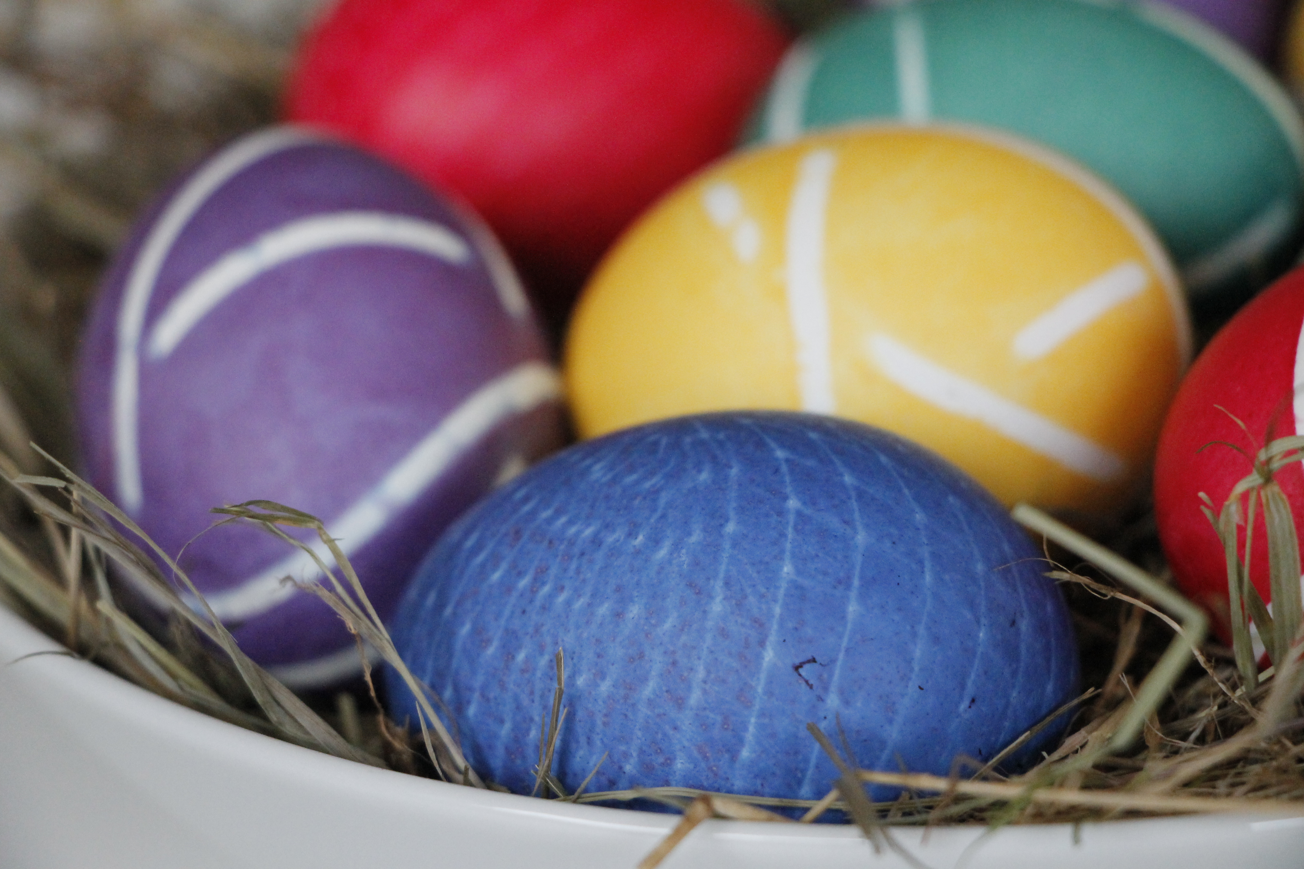 Ideen zum Ostereier färben, dekorieren und gestalten - Lavendelblog