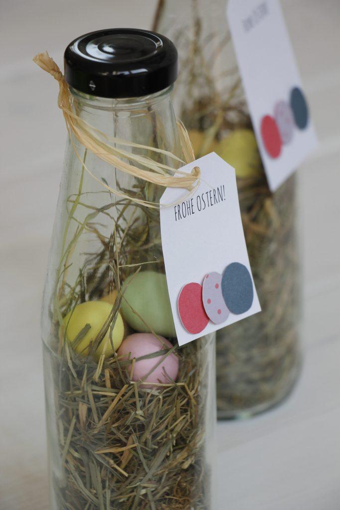 Ostern im Glas