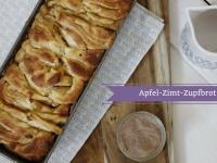 Backidee: Rezept für süßes Zupfbrot mit Zimt und Apfel