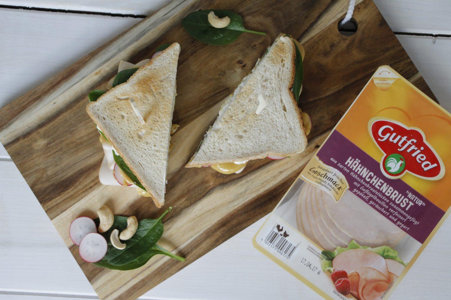 Sandwich-Rezept Hähnchen