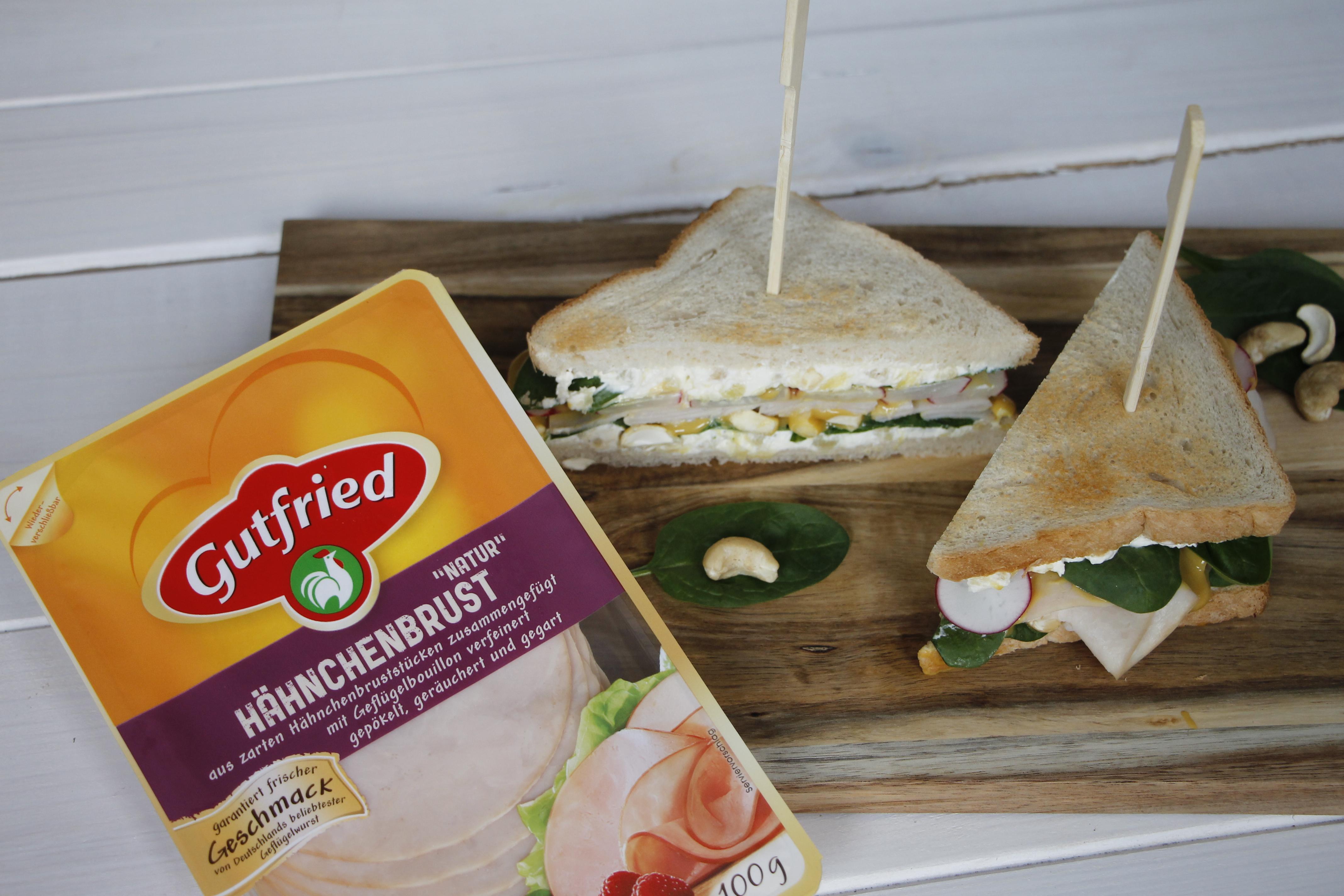 sandwich rezept mit h hnchenbrust lavendelblog. Black Bedroom Furniture Sets. Home Design Ideas