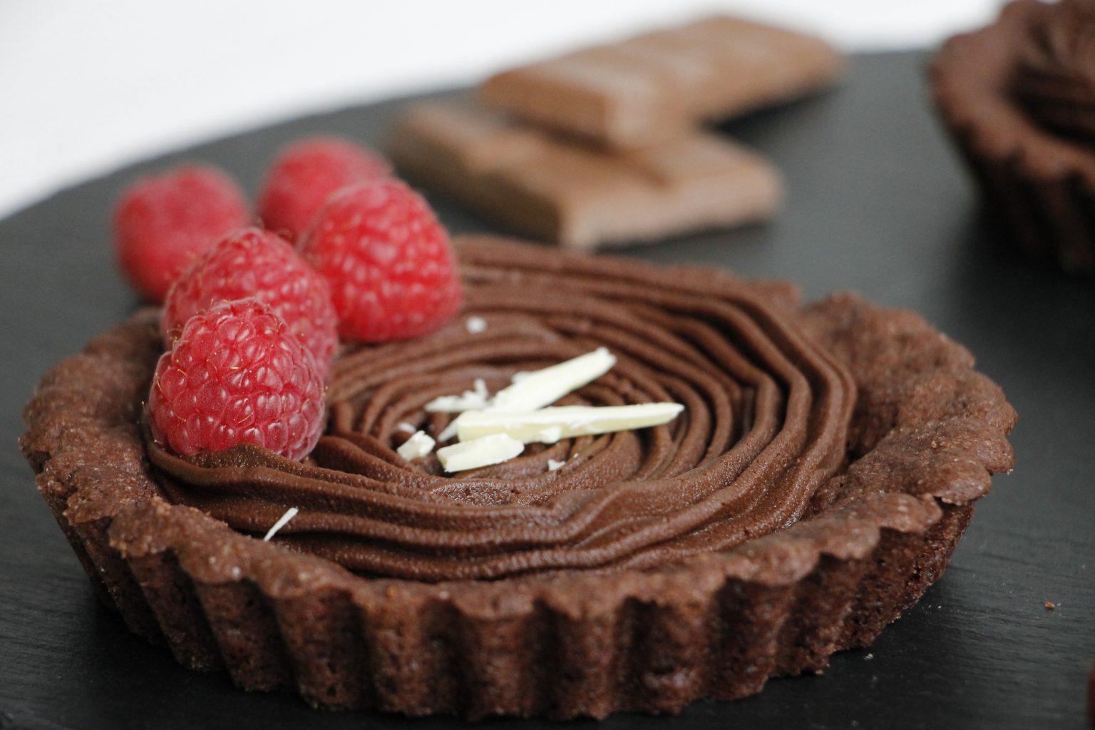 Schokoladen-Tartelettes Rezept