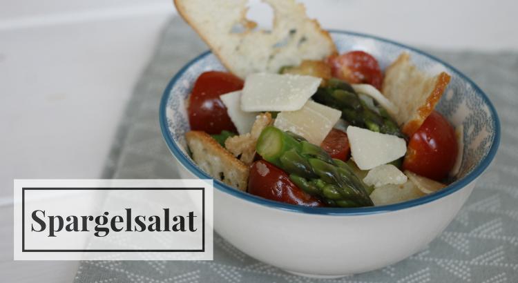 Spargel-Brotsalat Rezept