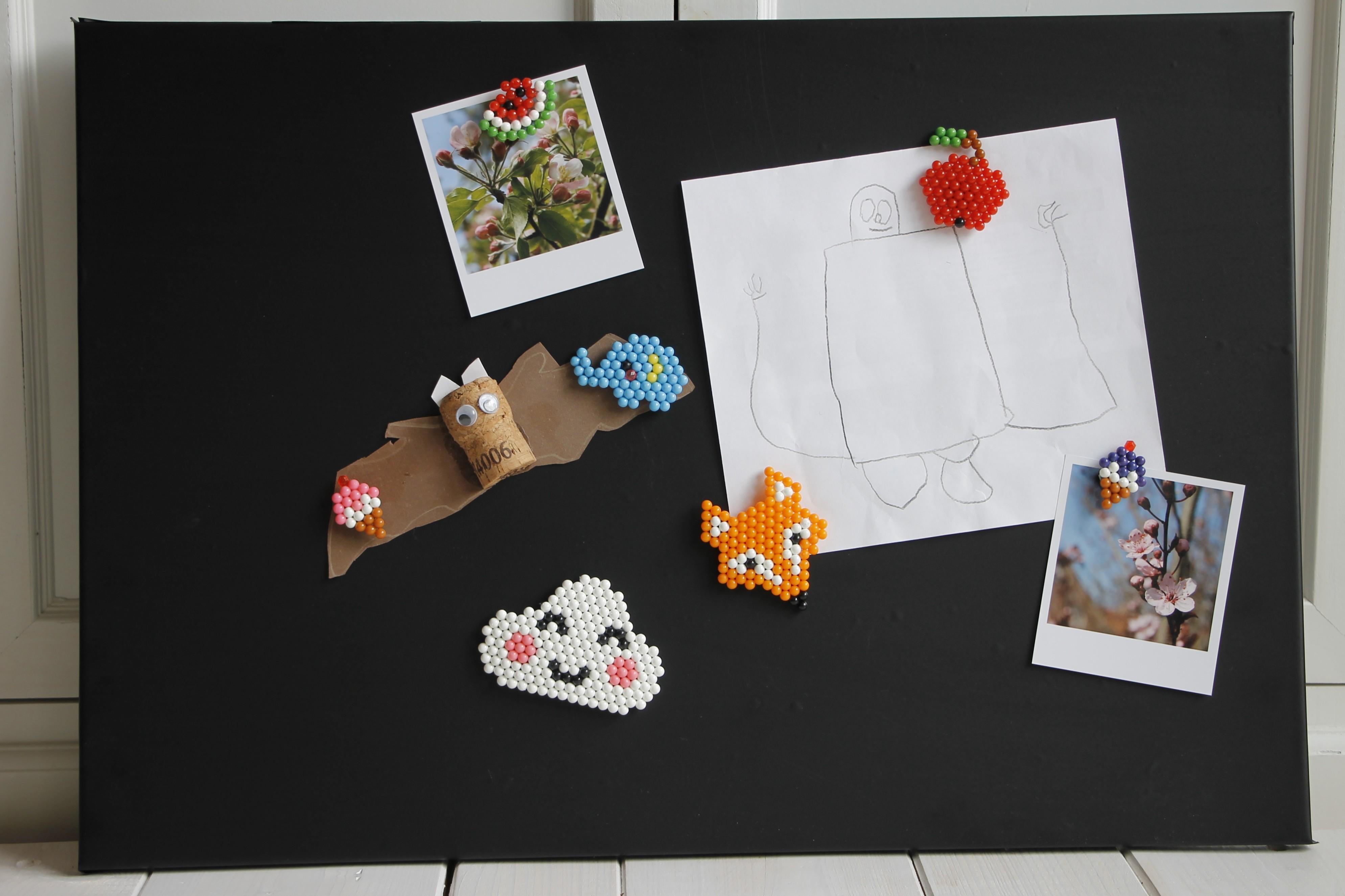 Magnete aus perlen lavendelblog - Muttertagsgeschenke basteln mit kindern ...