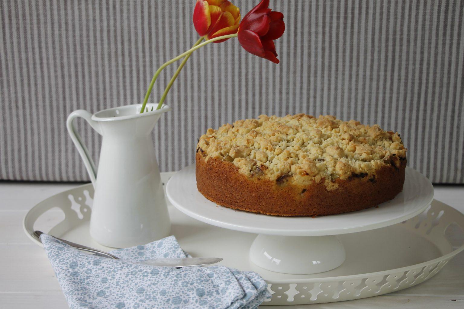 Rezept Rhabarber-Streusel-Kuchen