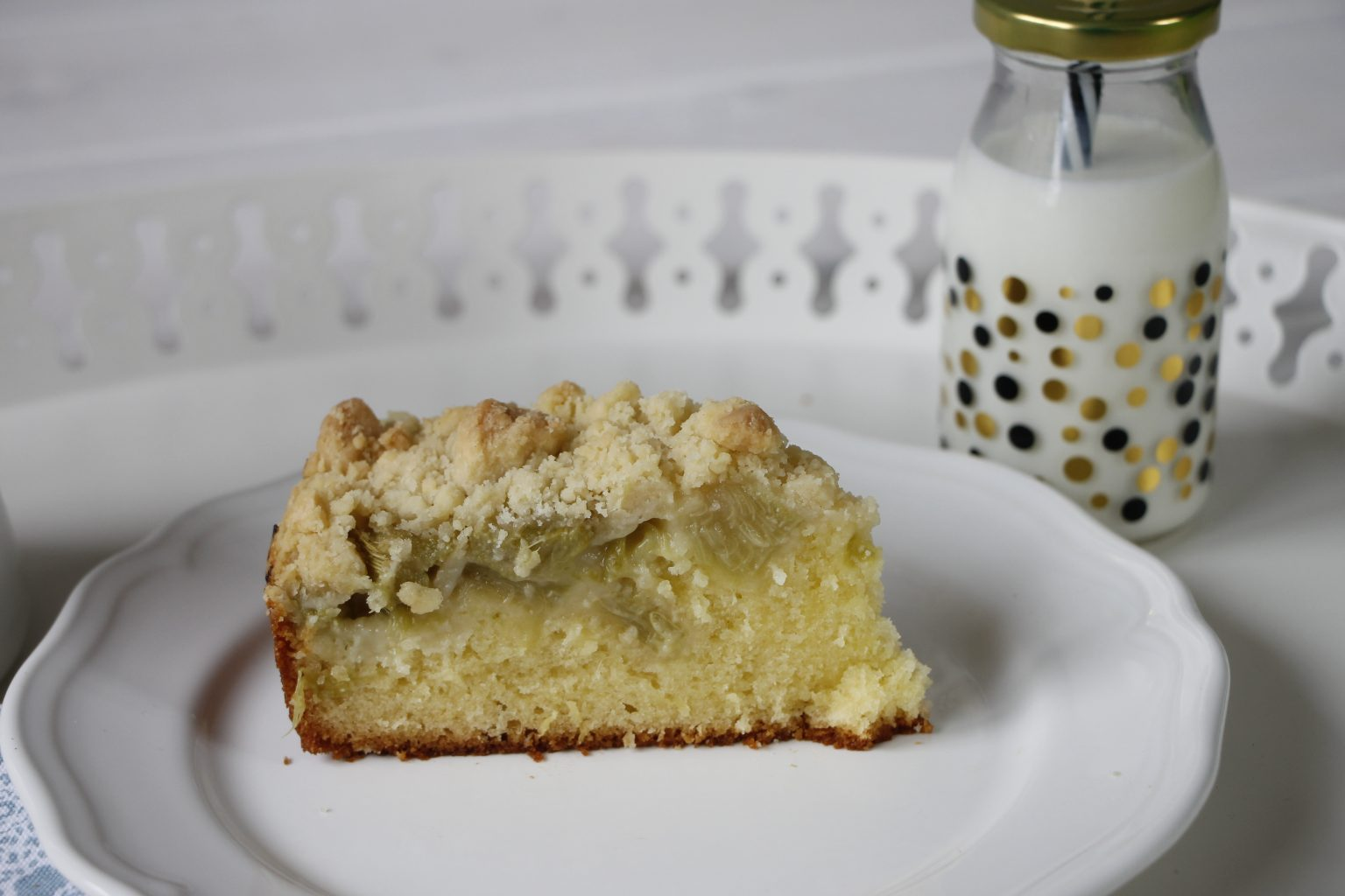 Rhabarberkuchen Rezept