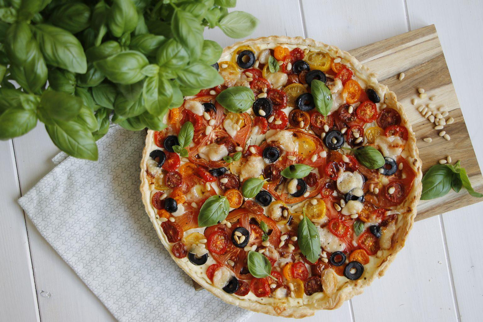 Tomatentarte mit Blätterteig Rezept