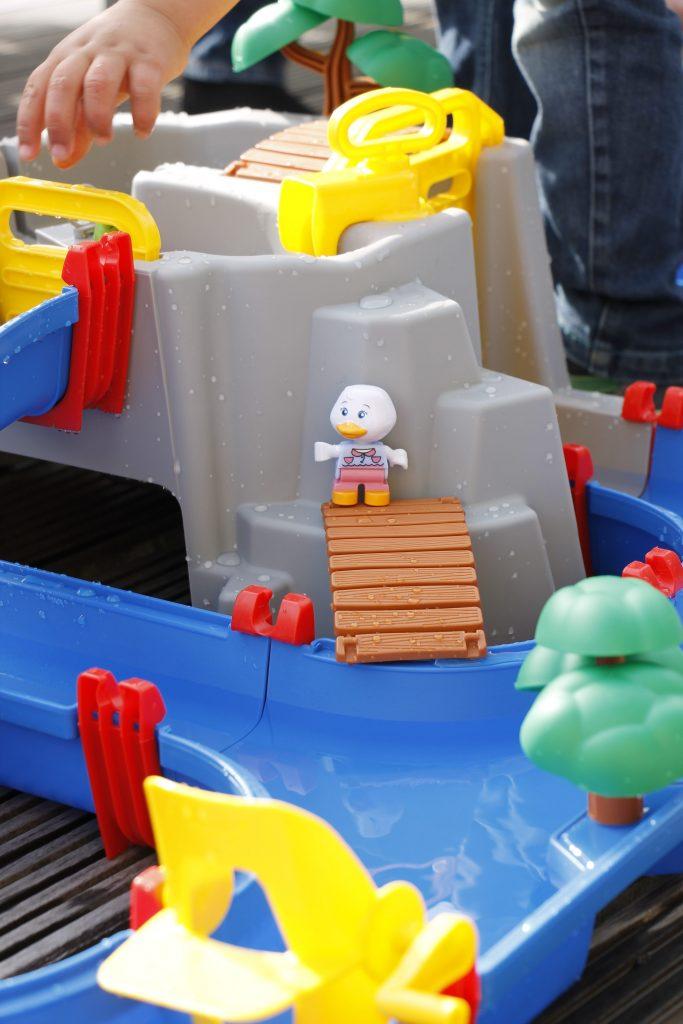 Wasserbahn Garten