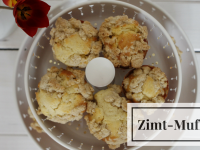 Schnelle Backidee: Apfel-Streusel-Muffins