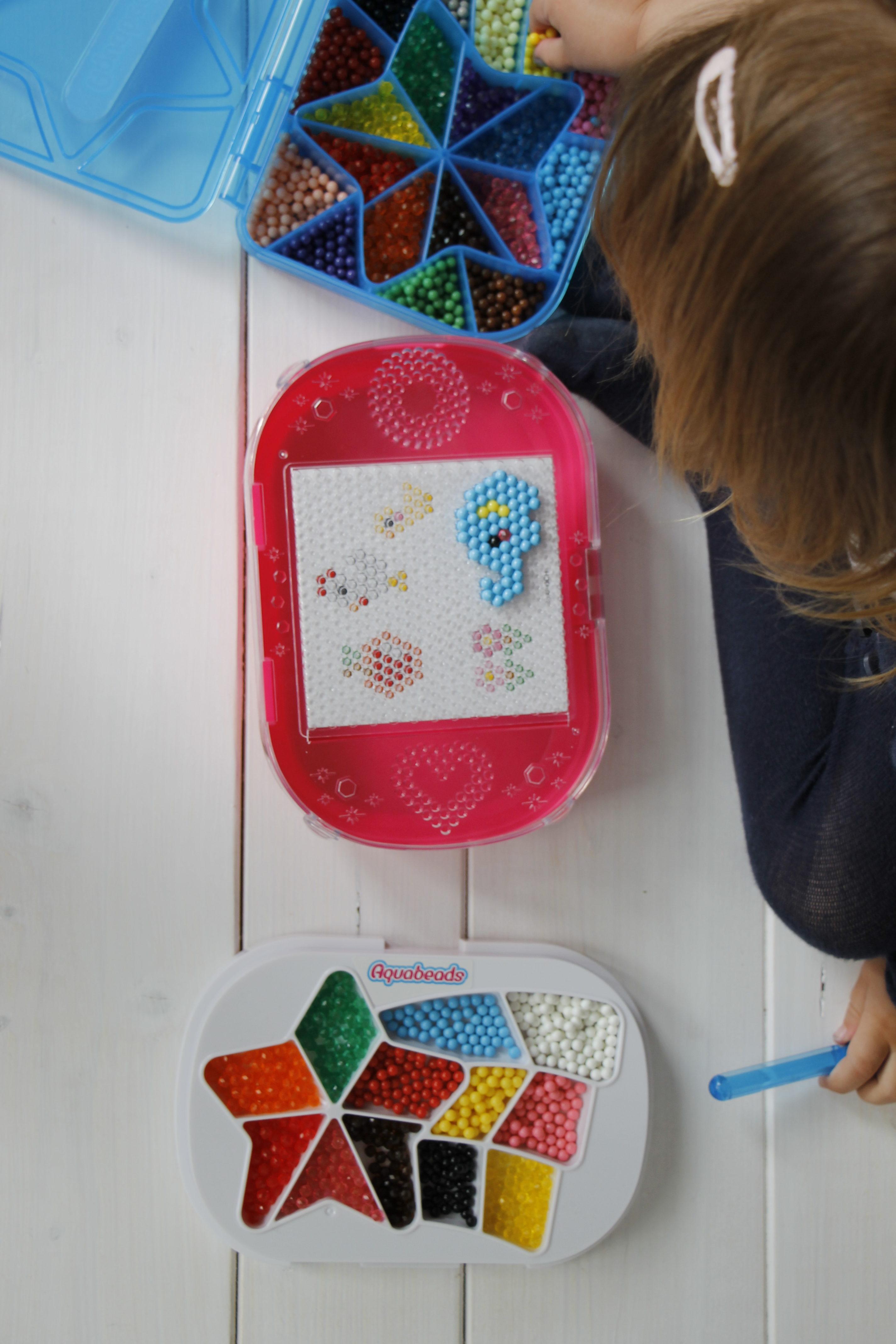 Arbeiten mit perlen kinder lavendelblog - Muttertagsgeschenke basteln mit kindern ...