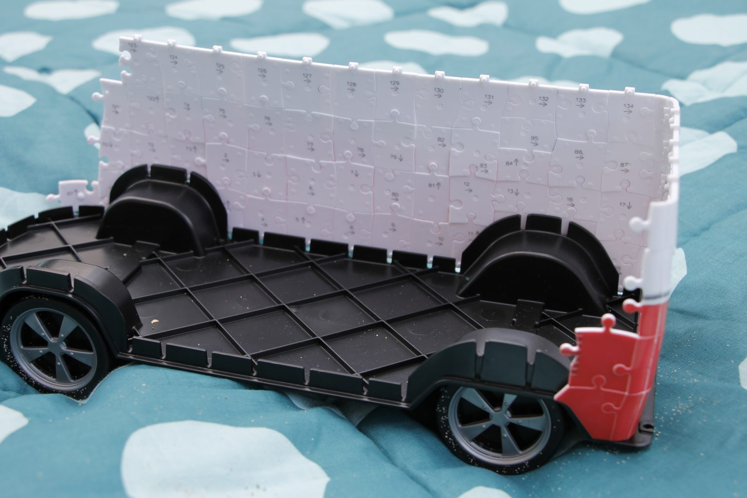 3D Puzzle Ravensburger Bulli Aufbau