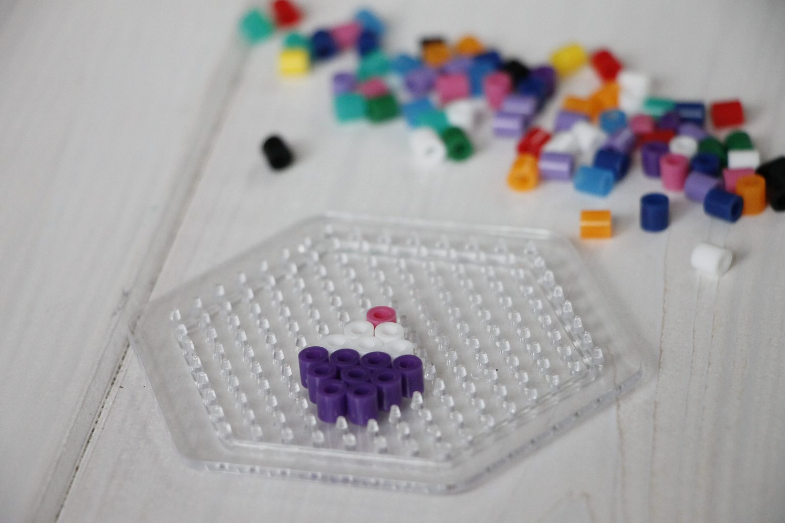 Basteln Mit Kindern Bügelperlen Haarspangen Lavendelblog