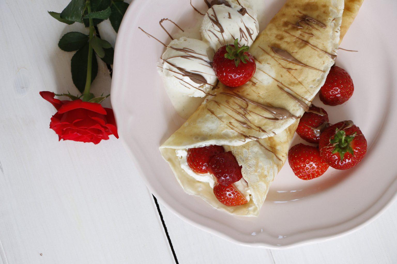 Erdbeer-Crepes Rezept