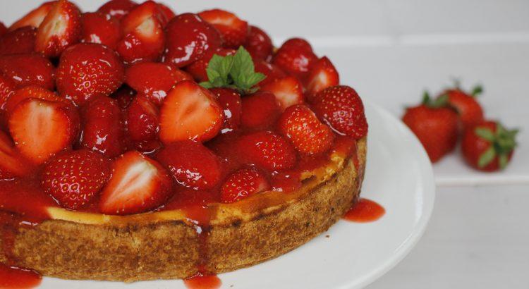 Erdbeer Alarm Rezept Fur Erdbeer Cheesecake Lavendelblog