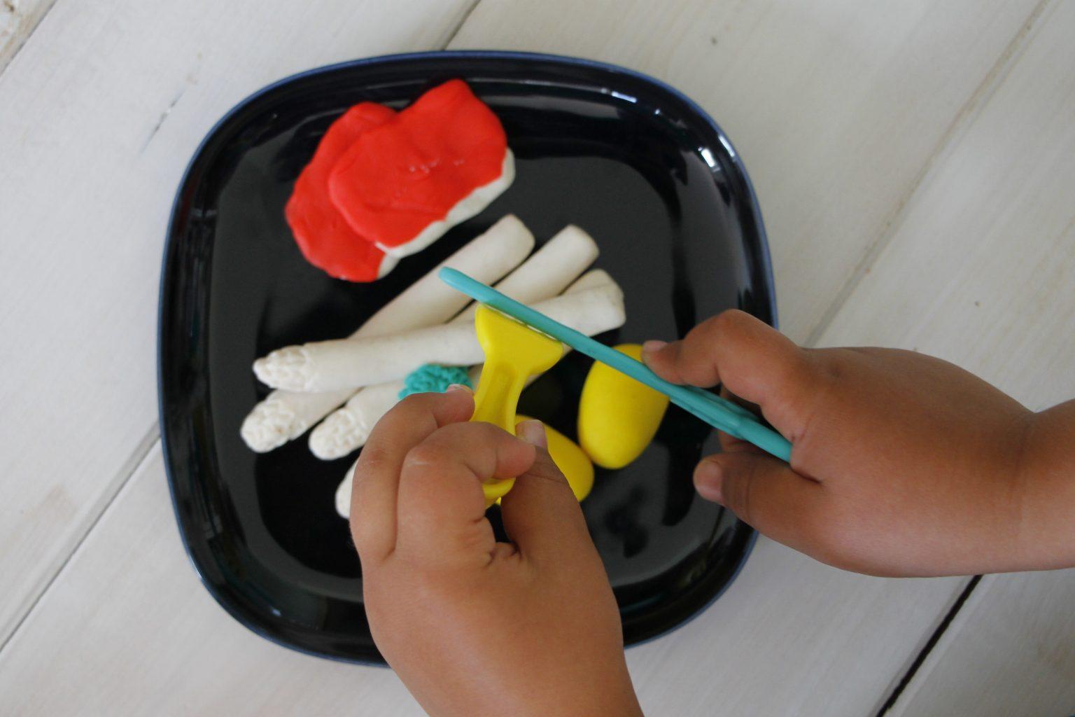 Kneten mit Kindern