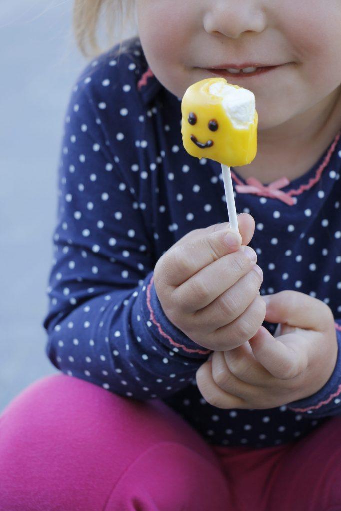 Lego Cake Pops Kindergeburtstag