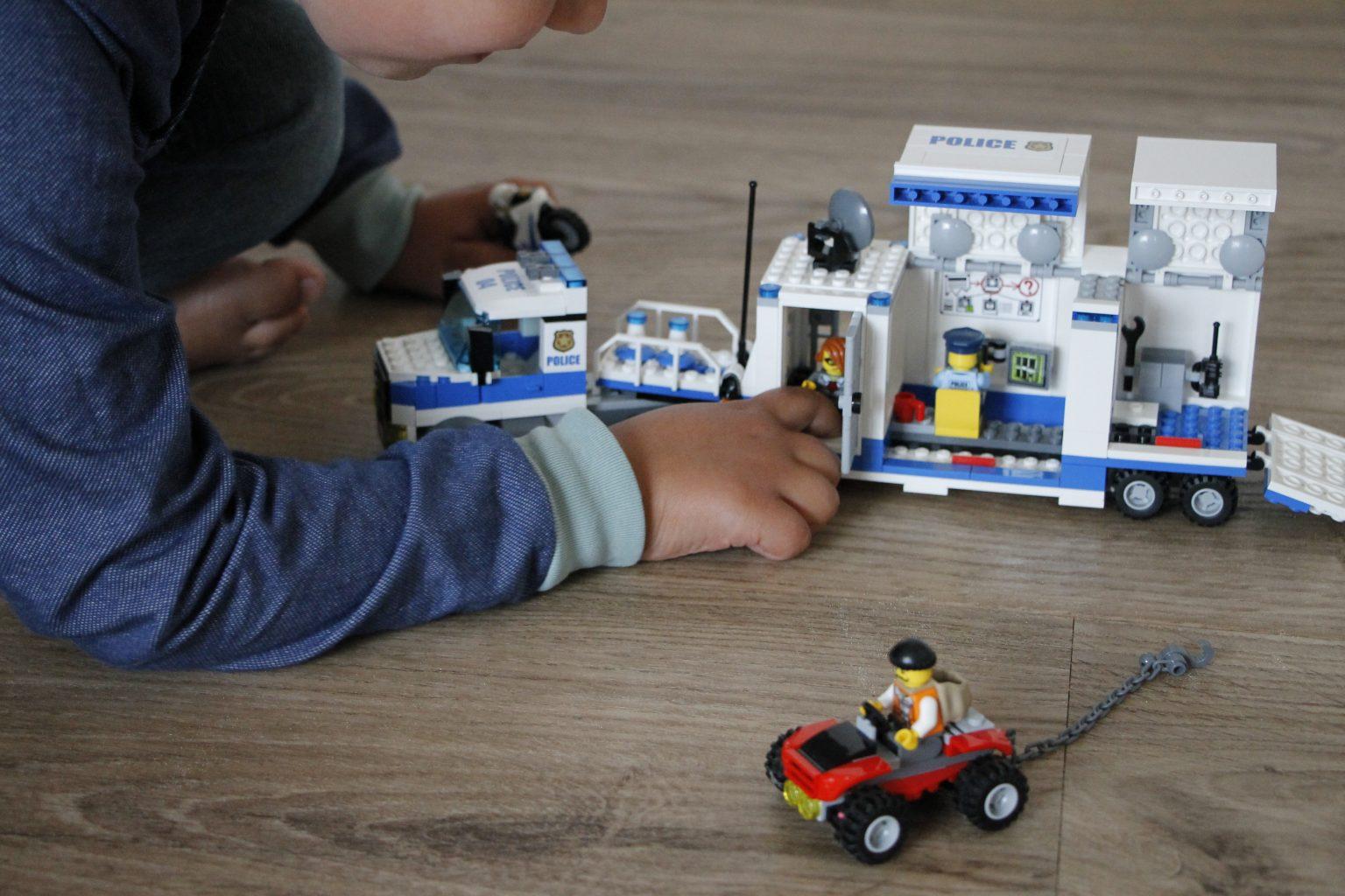 Lego City Polizei Mobile Einsatzzentrale