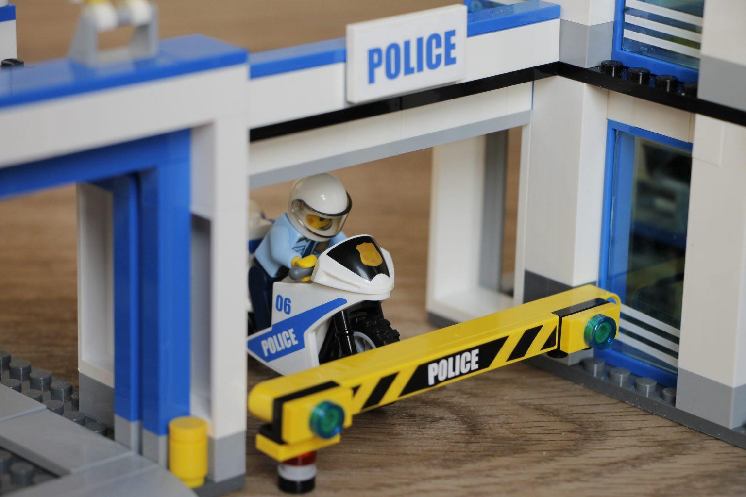 Lego City Polizeimotorrad