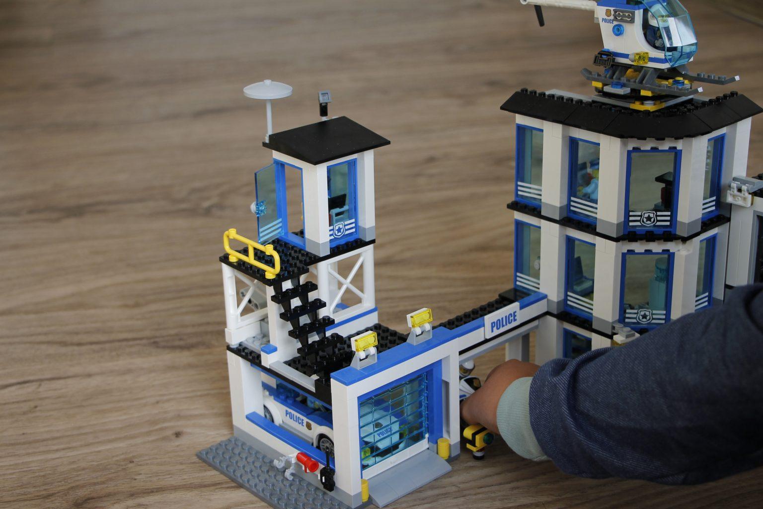 Lego City Polizeiwache Zubehör
