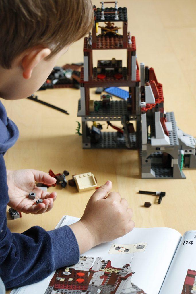 Lego Ninjago Aufbau