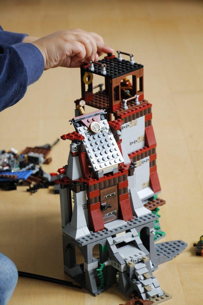 Lego Ninjago Leuchtturmbelagerung