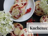 Rezept: Johannisbeer-Pudding-Schnecken