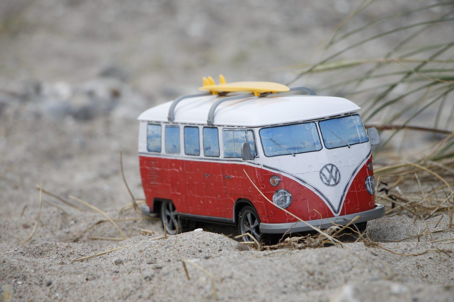Ravensburger 3D Puzzle Volkswagen T1 Zusammenbau