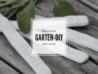 Garten-DIY-Idee: Blumenschilder selber machen