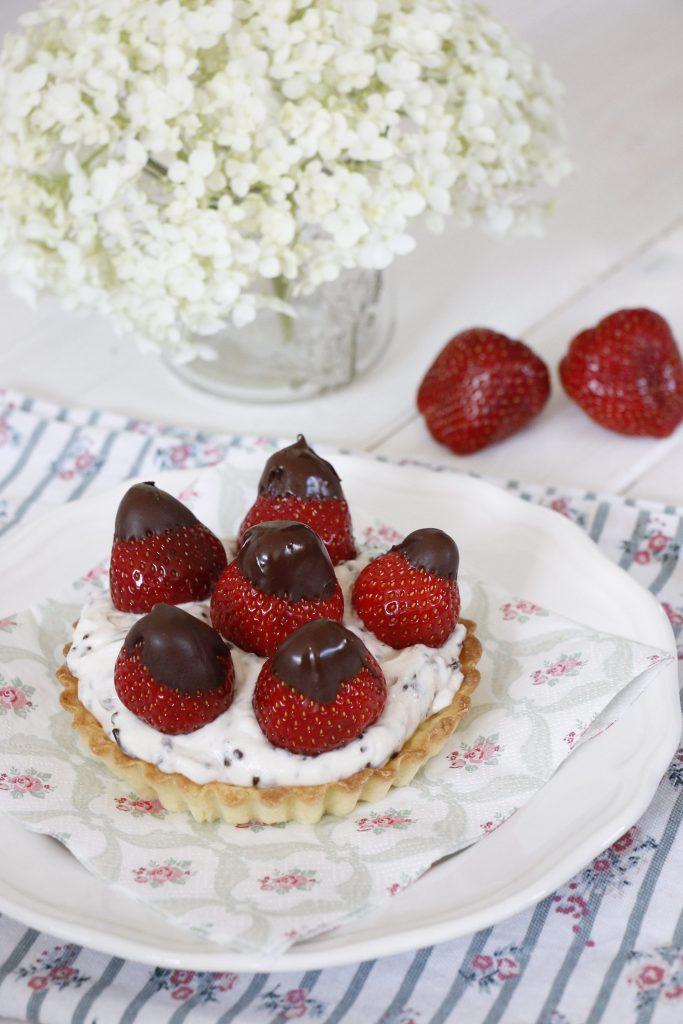 Erdbeertartelettes Rezept
