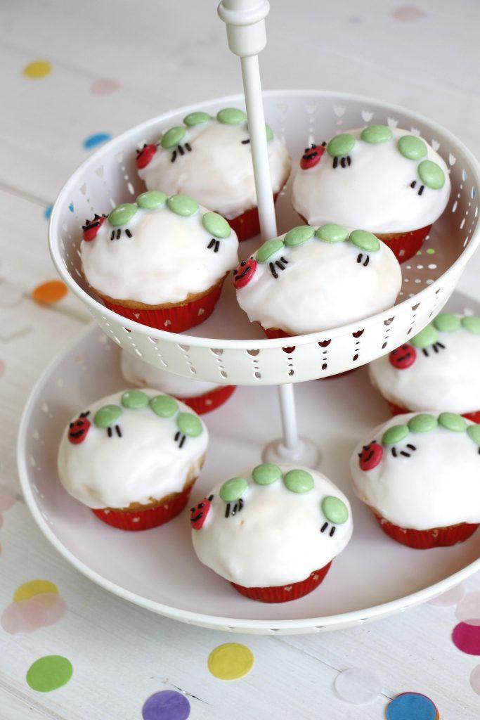 Kleine Raupe Nimmersatt Cupcakes