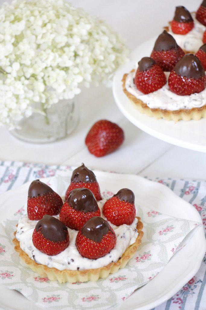 Törtchen mit Erdbeeren Rezept