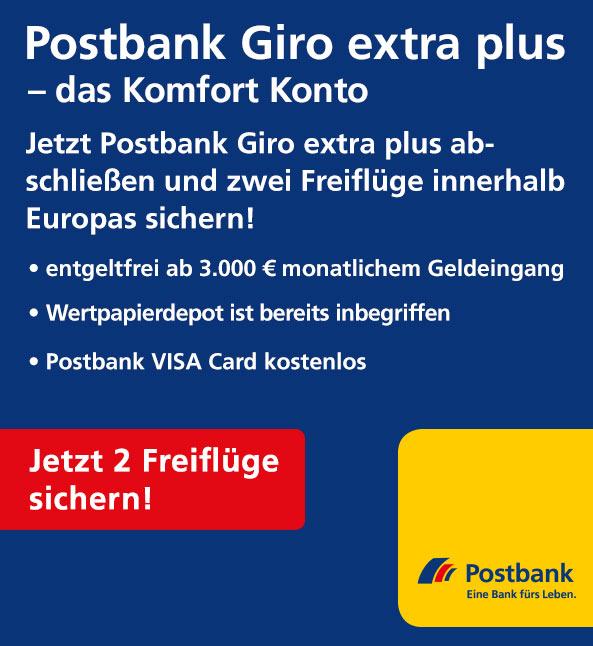 Postbank Giro extra plus