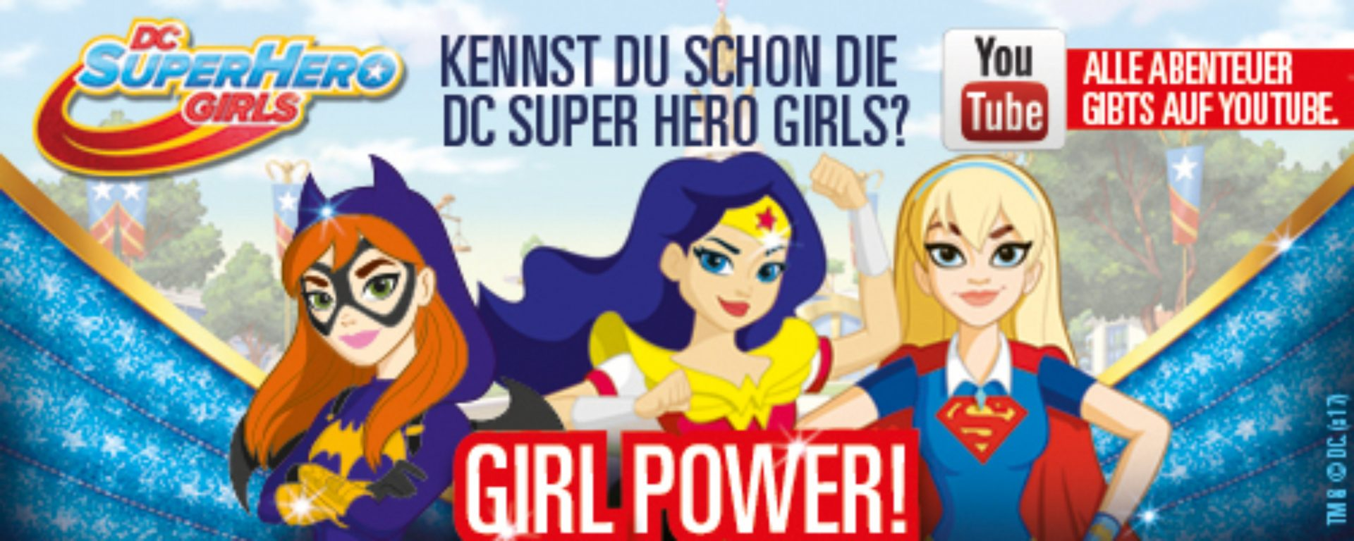 DC Super Hero Girls Visual
