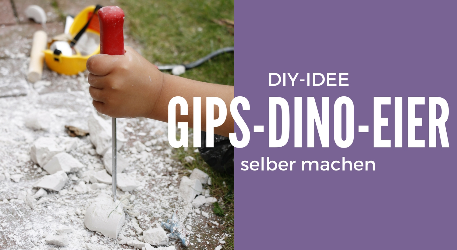 diy gips dino eier selber machen lavendelblog. Black Bedroom Furniture Sets. Home Design Ideas